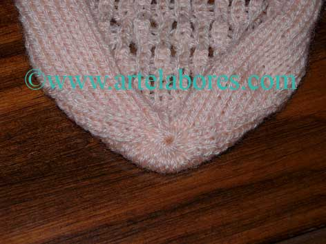 Calcetines a dos agujas - Como hacer calcetines de punto ...